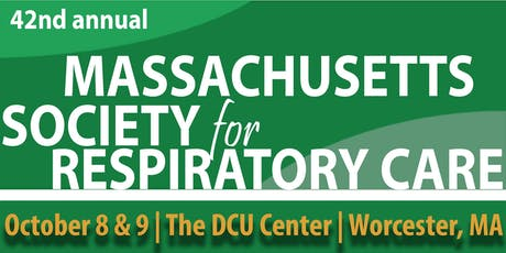 42nd Annual Meeting of the Massachusetts Society for Respiratory Care tickets