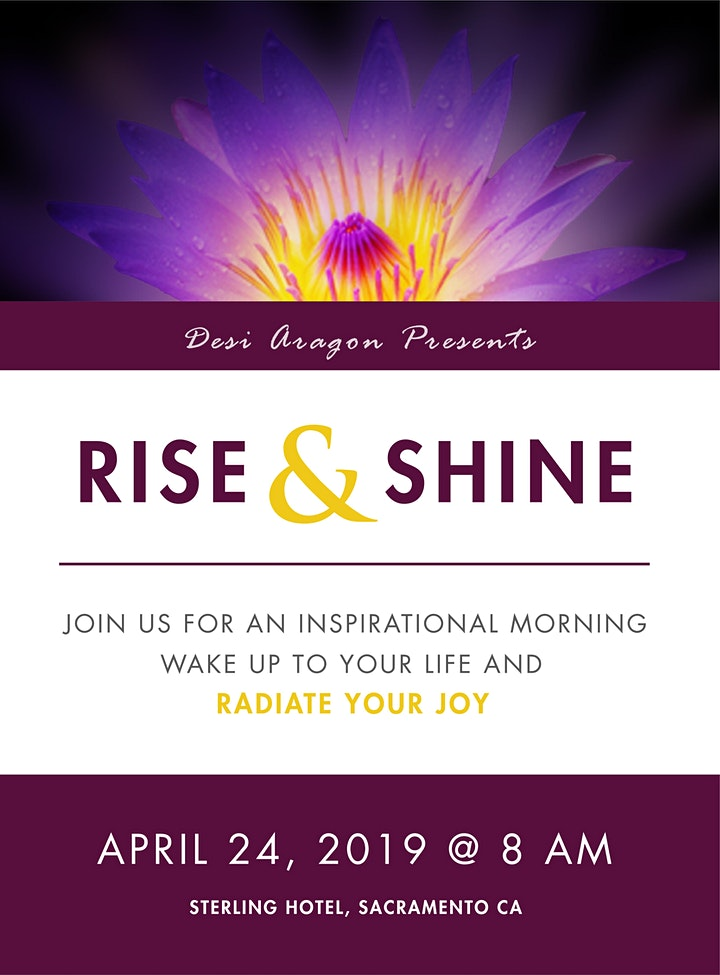 Rise and Shine: An Inspirational Morning for Women Beyond 40 image