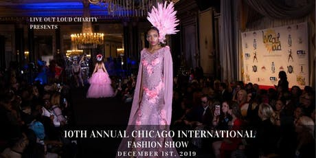 10th Annual Chicago International Fashion Show tickets