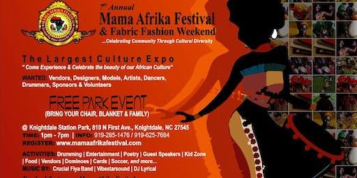 7th Annual Mama Afrika Festival