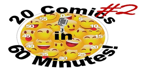 20 Comics in 60 Mins Comedy Slam 2 for 1 Seats Celebrate Sydney Fringe tickets