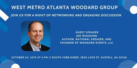 WMAW Group Networking: Discussion with Joe Woodard tickets