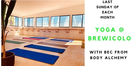 YOGA @ BREWICOLO tickets