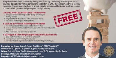 SMSF Master Class (23rd March Afternoon Session)