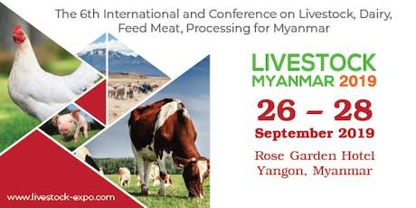 Livestock Myanmar 2019 tickets
