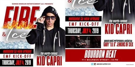 Fire & Ice Edition:  Welcome to New Orleans-EMF Kick-Off featuring Kid Capri tickets