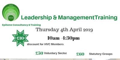 Leadership & Management Training Course