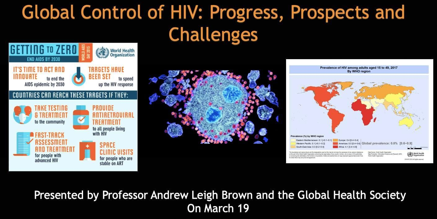 Global Control of HIV: Progress, Prospects an