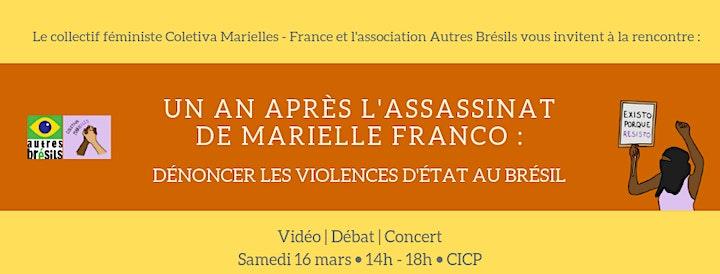 Image pour Un an après l'assassinat de Marielle Franco : dénoncer les violences d'État