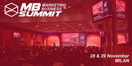 Marketing Business Summit 2019 Milan tickets