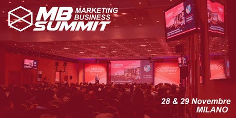 Marketing Business Summit 2019  - Evento SEO, Social Media, Coaching, Business e ADV biglietti