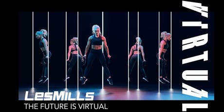 "LES MILLS Online Workshop ""The Future is Virtual"" Tickets"