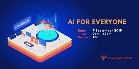 AI for Everyone (7 Sept 2019) tickets