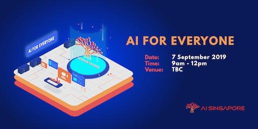 AI for Everyone (7 Sept 2019)