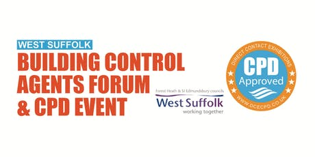 WEST SUFFOLK BUILDING CONTROL - Bury St Edmunds tickets