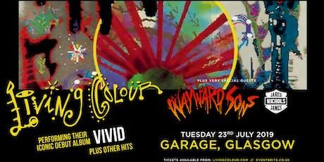 Living Colour (Garage, Glasgow) tickets