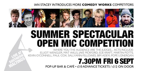 Comedy Works: Summer Spectacular Open Mic tickets