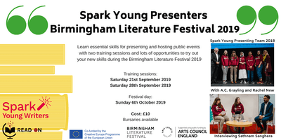 Spark Young Presenters BLF 2019