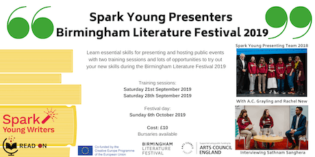 Spark Young Presenters BLF 2019 tickets