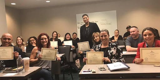 2 Day Los Angeles Event Planning Certificate Program August 17-18, 2019