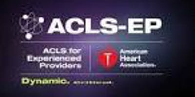 AHA ACLS EP (For Experienced Providers) August 9, 2019  (INCLUDES Provider Manual and FREE BLS!) from 9 AM to 5 PM at Saving American Hearts, Inc. 6165 Lehman Drive Suite 202 Colorado Springs, Colorado 80918.
