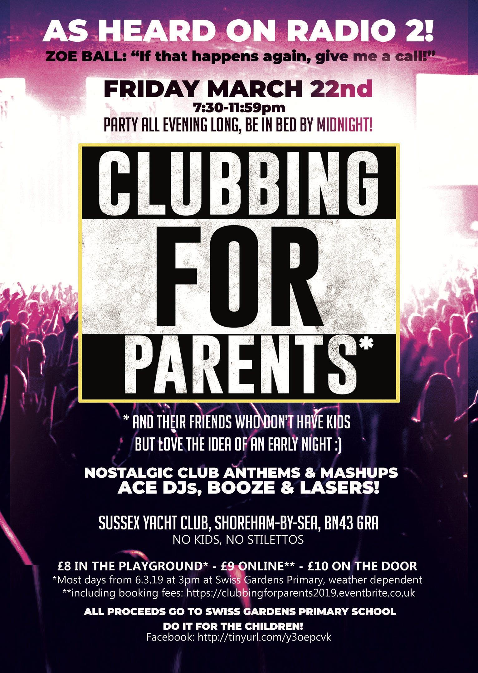 Clubbing for Parents 2019