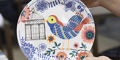 Creative Pottery Painting BYOB