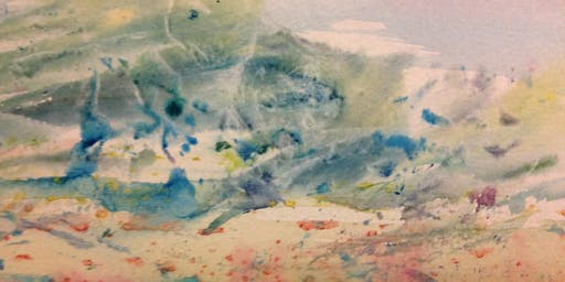 Experimental and Expressive Watercolour Painting