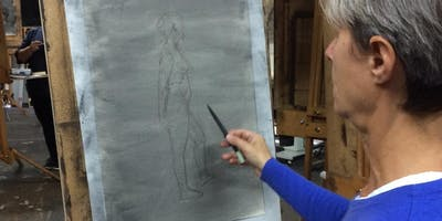 Life Drawing Fundamentals 1, Gesture, Proportion & Line