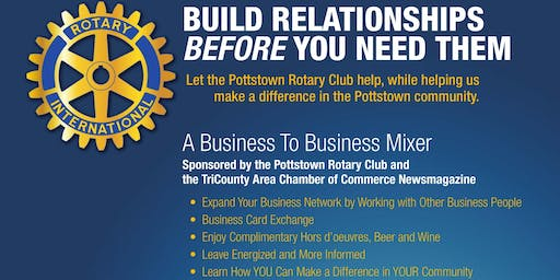Pottstown Rotary B2B Mixer at Red Horse