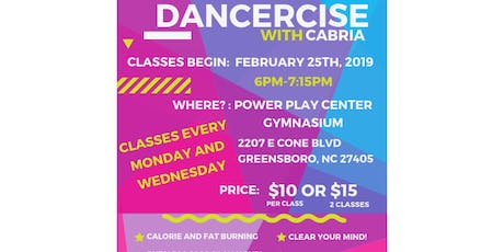 Dancercise With Cabria tickets