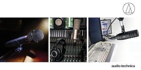 Audio-Technica - Mikrofongrundlage: Produkte, Serien und Anwendungen Tickets