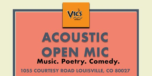 Open Mic at Vic's Espresso