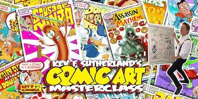 Kevs Comic Masterclass at Zion!
