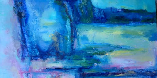 Expressive Mix Media Painting