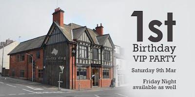 The Crafty Dog - 1st Birthday VIP Weekend - Saturday Night