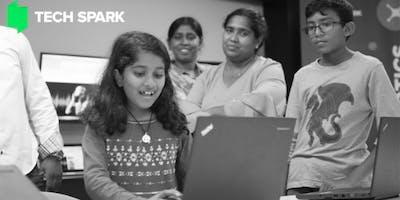 Tech Spark- Kids Writing Code- HTML+CSS