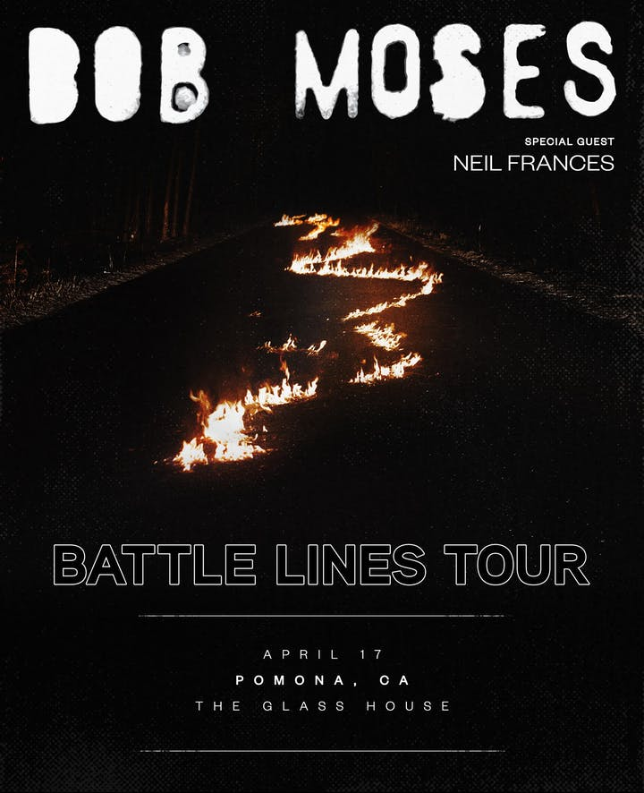 Bob Moses – Tickets – The Glass House – Pomona, CA – April