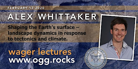 Shaping the Earth's surface – landscape dynamics in response to tectonics and climate. tickets