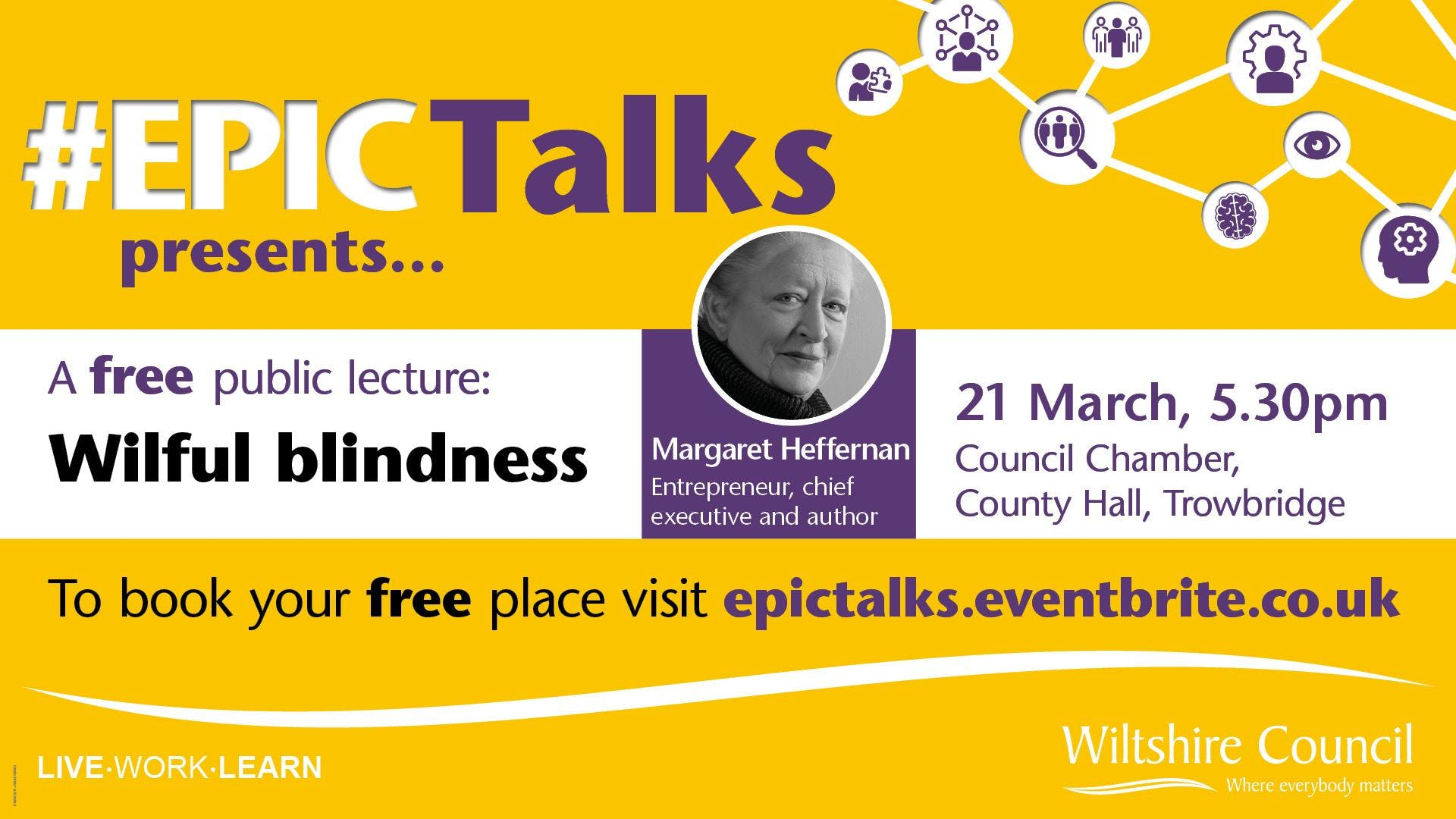 #EPIC Talks presents 'Wilful Blindness' by Ma