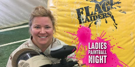 LADIES NIGHT - Free Rentals at Flag Raiders! tickets