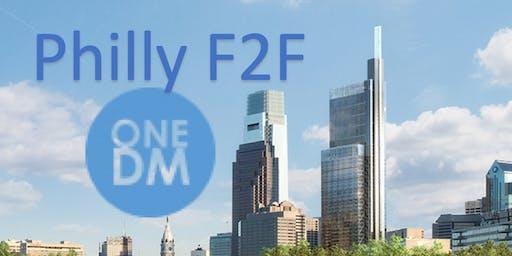 OneDM Philly F2F - 3