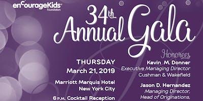 enCourage Kids 34th Annual Gala