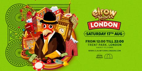 elrow Town London 2019 tickets
