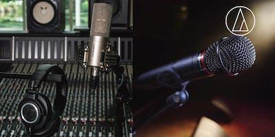 Audio-Technica - Mikrofonauswahl im Sprechgesang/Rap für Live- und Studioanwendung