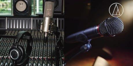 Audio-Technica - Mikrofonauswahl im Sprechgesang/Rap für Live- und Studioanwendung Tickets