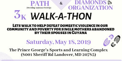 Walk the PATH with DIAMONDS 3k WALK-A-THON - FREE REGISTRATION