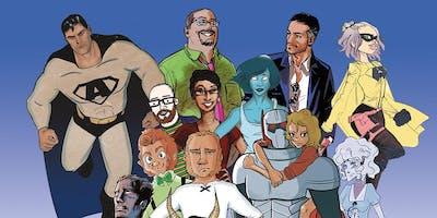MDes Comics & Graphic Novels Open Studios Visit Days