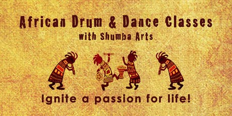 African Drum & Dance Classes ~ Dartington  ~ Continuation course tickets