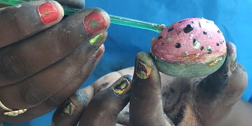 Painting Rocks!! Special Friday Funday at Lotus House
